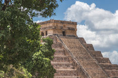 Eine Spitze bei El Castillo Lizenzfreies Stockfoto