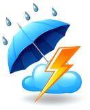 Eine stürmische Jahreszeit Lizenzfreies Stockfoto