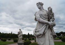 Eine Statue Lizenzfreies Stockfoto
