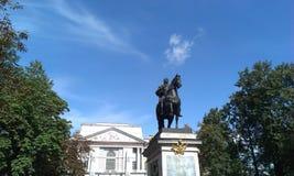 Eine Statue Stockbild