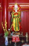 Eine Statue in Hung Kings Temple Phu Tho Lizenzfreie Stockfotos