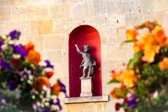Eine Statue im Bad, Großbritannien lizenzfreie stockfotos