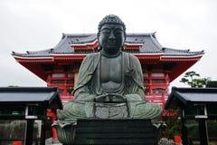 Eine Statue von Buddha Stockbild