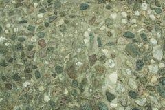 Eine Steinwand Lizenzfreies Stockfoto