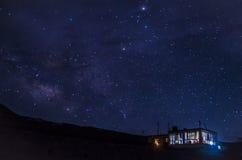 Eine sternenklare Nacht (Himachal Pradesh) Stockfotografie