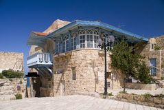 Eine Straße in altem Jaffa Lizenzfreie Stockfotos
