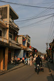 Eine Straße in Hoi An - Vietnam Lizenzfreie Stockfotografie