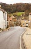 Eine Straße in Richmond, North Yorkshire Lizenzfreie Stockbilder