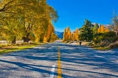Eine Straße südlich Te Anaus Lizenzfreie Stockbilder