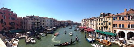 Eine Straße in Venedig Stockfotografie