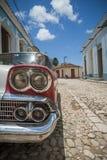 Eine Straße von Trinidad Stockfoto