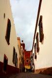 Eine Straße in Zacatecas, Mexiko Lizenzfreie Stockbilder