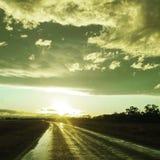 Eine Straße zu einem neuen Anfang Lizenzfreies Stockfoto
