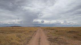 Eine Straße zur Unendlichkeit Stockfoto