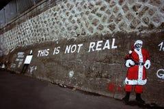 Eine Straßenkunst auf der Wand von Seoul stockbilder