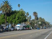 Eine Straße in Miami lizenzfreies stockfoto