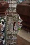 Eine Struktur im WatPo-Tempelkomplex Lizenzfreies Stockbild