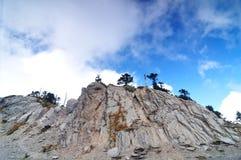 Eine Szene auf dem Berg Stockbilder