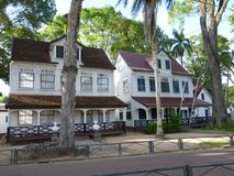 Eine Szene von Parimaribo, Surinam lizenzfreie stockfotografie