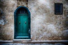 Eine Tür in der Stadt von Mdina, Malta Lizenzfreies Stockfoto