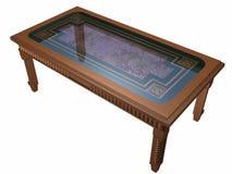 Eine Tabelle ist klein. Stockfotos