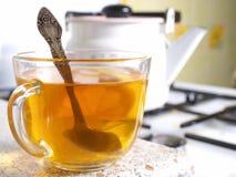 Eine Tasse Tee lizenzfreies stockfoto