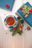 Eine Tasse Tee Lizenzfreies Stockbild