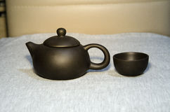 Eine Teekanne Stockfotografie