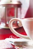 Eine Teeschale stockfoto