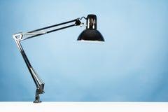 Eine Tischlampe Stockfotografie