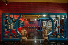 Eine Tonwarentonwaren-Museumsausstellung Rongchang Chongqing Rongchang Stockbild