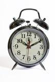 Eine traditionelle Alarmuhr Lizenzfreie Stockfotografie