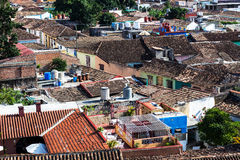 Eine Trinidad-Straße Lizenzfreies Stockfoto