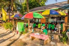 Eine typische Ansicht in kamala Phuket Thailand stockfoto