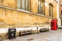 Eine typische Ansicht in London stockbilder