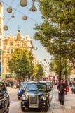 Eine typische Ansicht in London lizenzfreie stockbilder