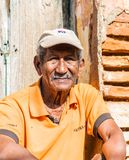 Eine typische Ansicht in Trinidad in Kuba stockbild