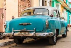Eine typische Ansicht in Trinidad in Kuba stockfotos