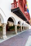 Eine typische Ansicht von Cartagena Kolumbien Lizenzfreie Stockbilder
