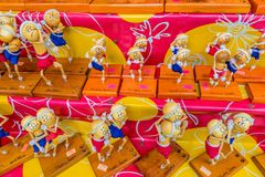 Eine typische Szene in Karon Phuket Thailand lizenzfreie stockfotos