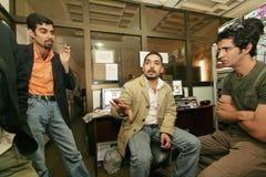 Eine unabhängige irakische Fernsehstation, Cario Lizenzfreies Stockbild