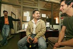 Eine unabhängige irakische Fernsehstation, Cario Lizenzfreies Stockfoto