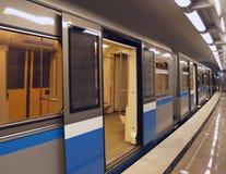 Eine Untergrundbahn Lizenzfreie Stockfotografie