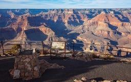 Eine Unterlassung an der Südkante, Grand Canyon stockbilder