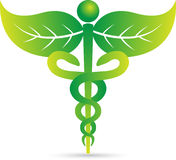Caduceus Stockbild