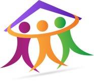 Freundliches Haus Lizenzfreies Stockfoto