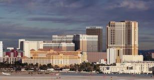 Eine venetianische Ansicht von McCarran internationalem Flughafen Lizenzfreies Stockbild
