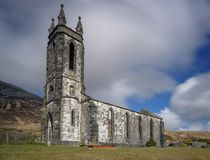 Eine vergessene Kirche lizenzfreies stockbild