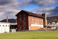 Eine verlassene Fabrik Lizenzfreies Stockfoto