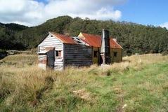 Eine verlassene Hütte Stockbild